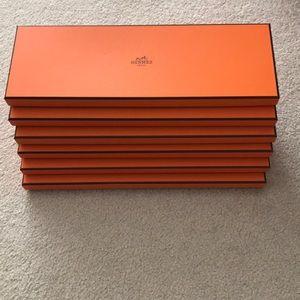 Aunthentic Empty Hermes Boxes